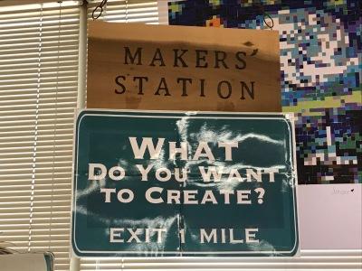 The InfoHub Marker Station